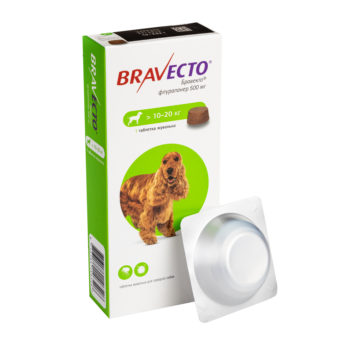 Бравекто® 500 мг (10-20 кг)
