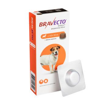 Бравекто® 250 мг (4,5-10 кг)