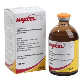 Наксель 100 мг/100мл суспензія для ін'єкцій