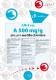 AMIX vet A 500 mg/g prášek pro přípravu perorálního roztoku