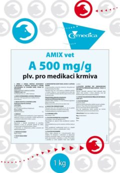 AMIX Vet A 500 mg/g powder for oral solution
