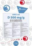 AMIX vet D 500 mg/g prášek pro přípravu perorálního roztoku