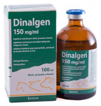 DINALGEN 150 mg/ml injekční roztok pro skot, prasata a koně