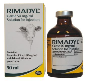 Rimadyl Cattle 50mg/ml