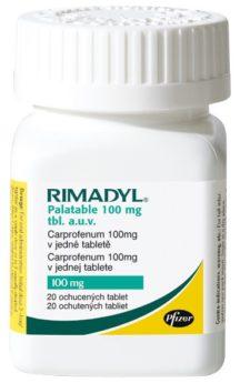 RIMADYL PALATABLE 100 mg
