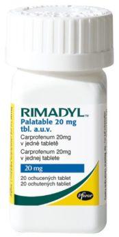 RIMADYL PALATABLE 20 mg
