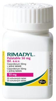 RIMADYL PALATABLE 50 mg