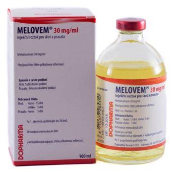 MELOVEM 30 mg/ml injekční roztok pro skot a prasata