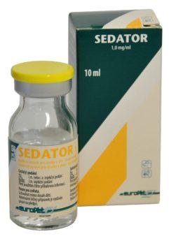 SEDATOR 1,0 mg/ml injekční roztok