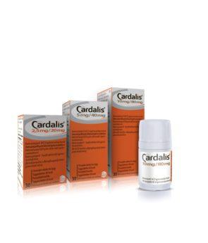 CARDALIS 5 mg/40 mg tablety pro psy M
