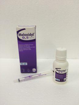 MELOXIDYL 0.5 mg/ml por. sus. ad us. vet.