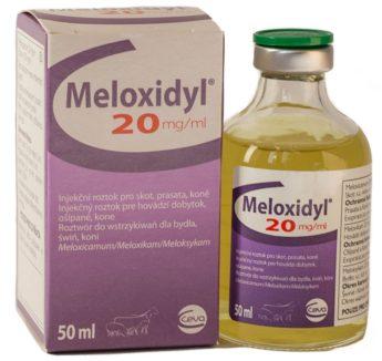 MELOXIDYL 20 mg/ml inj. ad us. vet.