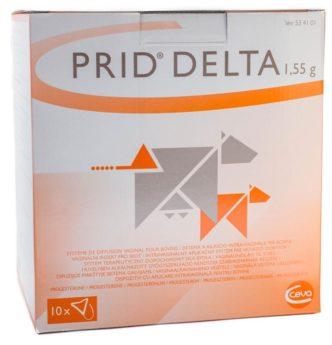 PRID DELTA 1.55 g vag. ins. ad us. vet.