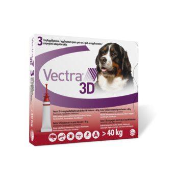VECTRA 3D sol. ad us. vet. Spot-on pro psy > 40 kg