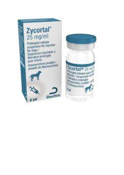 Zycortal 25 mg/ml injekční suspenze s prodlouženým uvolňováním pro psy