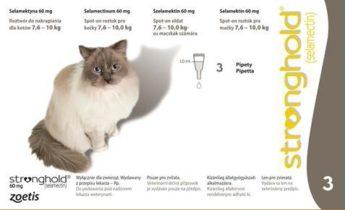 STRONGHOLD 60mg spot-on pro velké kočky