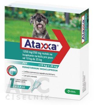 Ataxxa pro psy od 10 do 25 kg 1250/250 mg