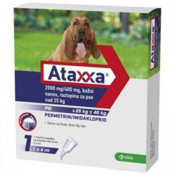 Ataxxa pro psy nad 25 kg 2000/400 mg