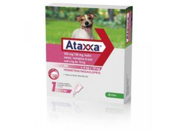 Ataxxa pro psy od 4 do 10 kg 500/100 mg