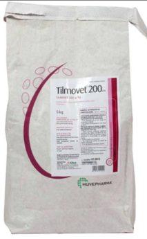 Tilmovet 200 g/kg premix pro medikaci krmiva pro prasata a králíky