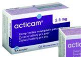 Acticam 2,5mg žvýkací tablety pro psy