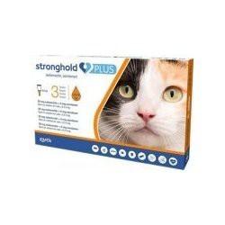 STRONGHOLD PLUS 30 mg/5 mg spot-on roztok pro kočky > 2,5–5 kg