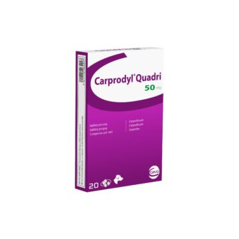 CARPRODYL Quadri 50 mg tablety pro psy