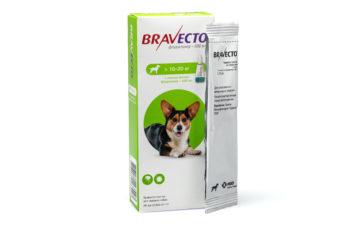 Бравекто® спот-он для собак 500 мг (10-20 кг)