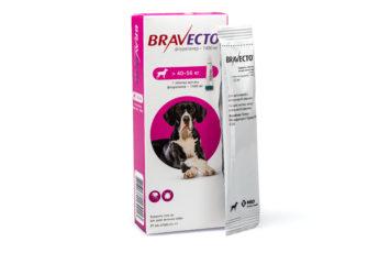 Бравекто® спот-он для собак 1400 мг (40-56 кг)