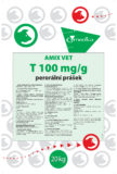 AMIX Vet T 100 mg/g oral powder for medicated feeding stuff for pigs
