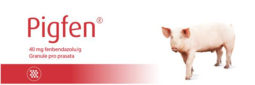 Pigfen 40 mg/g granule pro prasata
