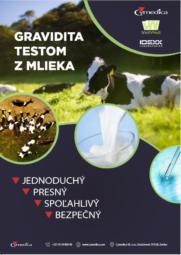 TEST březosti krav v mléka – IDEXX