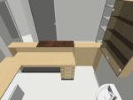 2D a 3D návrhy a realizace čekáren