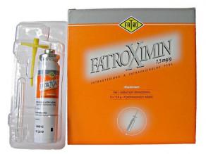 FATROXIMIN 7.5 mg/g