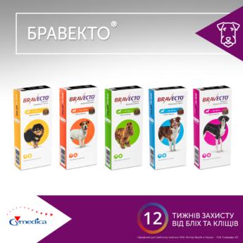 Бравекто® у формі жувальної таблетки отримала нову упаковку