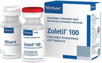 Золетил 100 (Virbac)