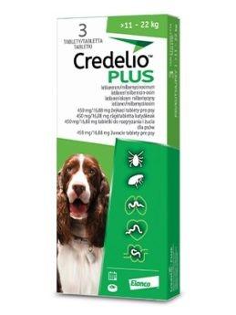 Credelio Plus žvýkací tablety pro psy