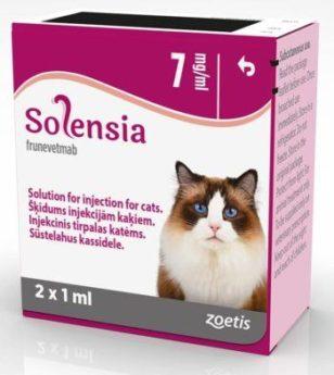 SOLENSIA 7 mg/ml injekční roztok pro kočky