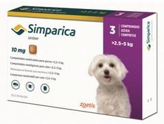 Simparica 10 mg, žvýkací tablety pro psy >2,5–5 kg