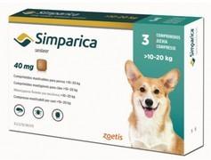 Simparica 40 mg, žvýkací tablety pro psy >10–20 kg