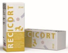 Recicort ušní kapky (triamcinolon + kys. salicylová)