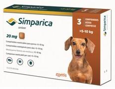 Simparica 20 mg, žvýkací tablety pro psy >5–10 kg