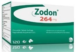 Zodon 264 mg žvýkací tablety pro psy