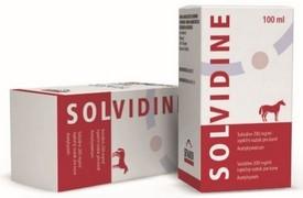 Solvidine 200 mg/ml inj. (acetylcystein pro koně)