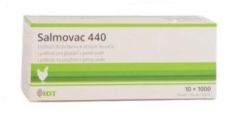 SALMOVAC 440, Lyofilizát pro přípravu perorální suspenze