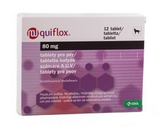 Quiflox 80 mg tablety pro psy