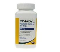 RIMADYL PALATABLE 100 mg tbl. ad us. vet.