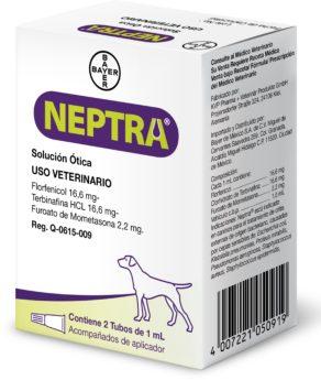 Neptra, ušní kapky, roztok pro psy