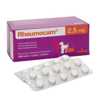 Rheumocam, 2,5 mg, žvýkací tableta