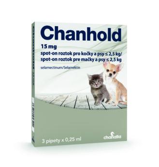Chanhold pro kočky a psy do 2,5 kg
